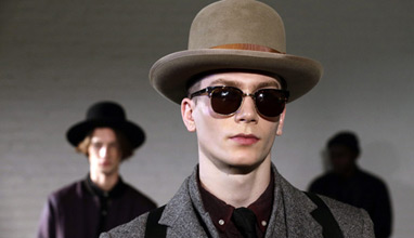 Krammer & Stoudt show the dandy style at New York Men's Fashion Week