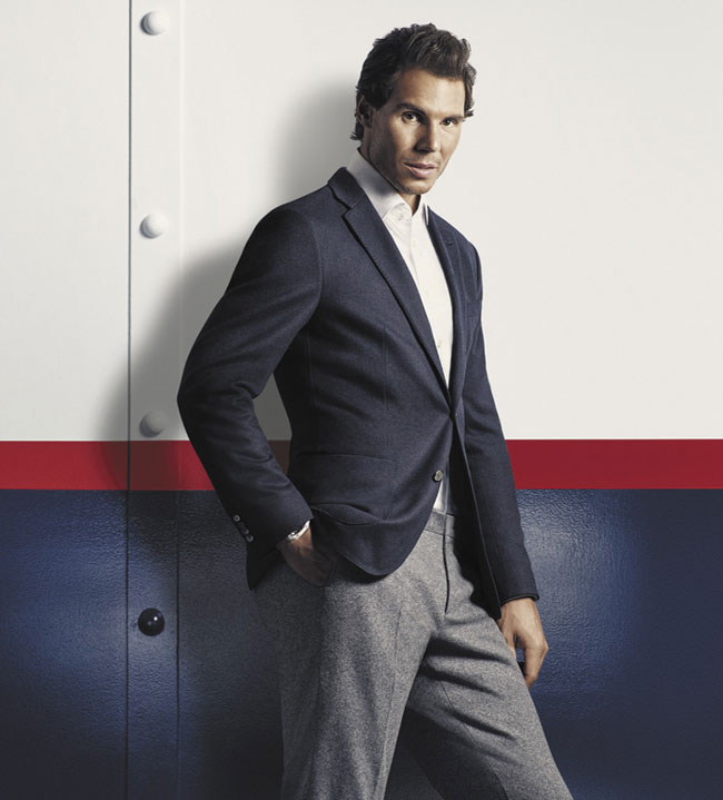 Tommy Hilfiger introduces fall 2016 tailored campaign with global brand ambassador Rafael Nadal