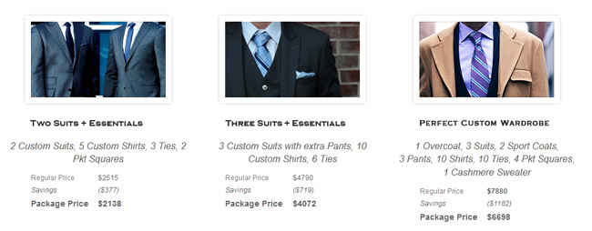 Bespoke suits and Custom clothing Made in Chicago by Nicholas Joseph