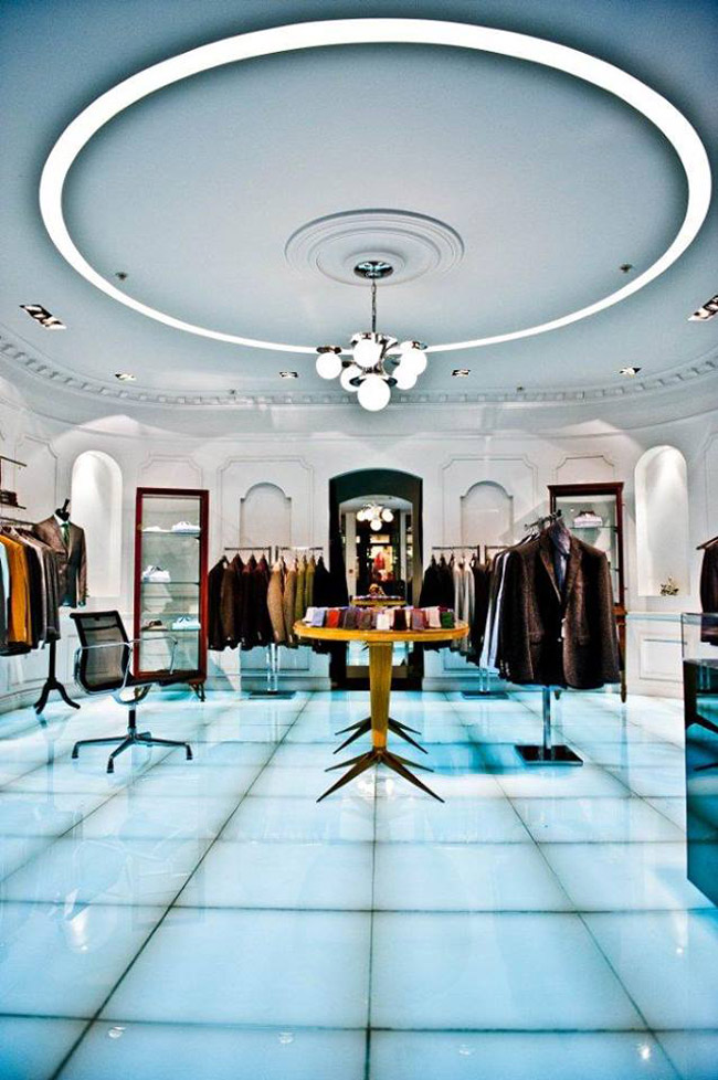 Nick Tentis London Flagship store opening in 2016