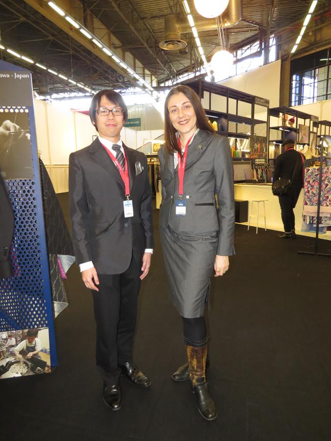 Nishiyama silk fabrics - a completely organic product