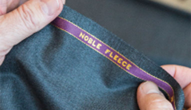 Noble Fleece fabric by Scabal