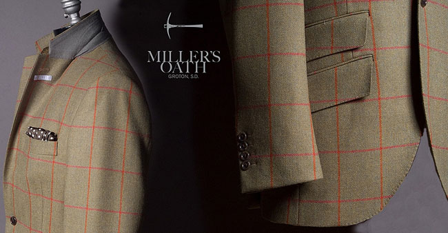Bespoke suits by Miller's Oath