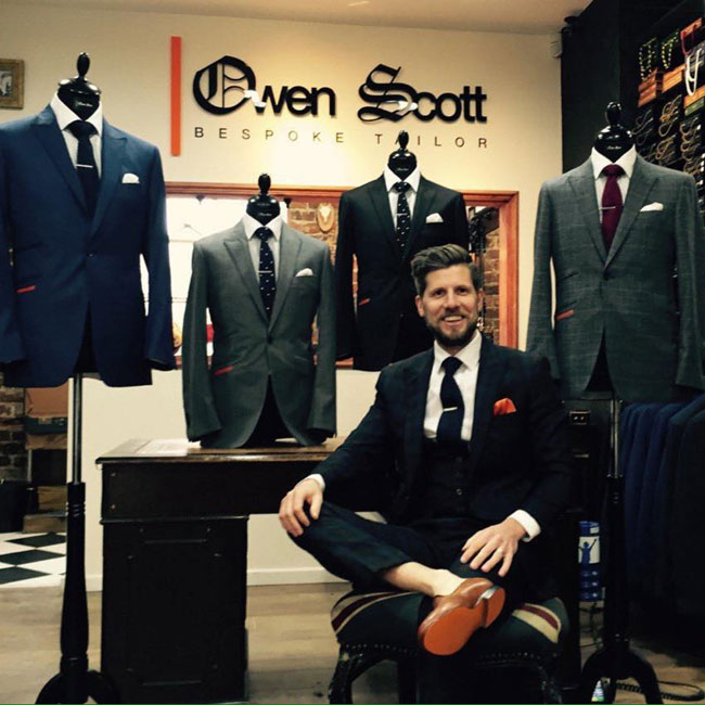 Bespke suits from United Kingdom by Owen Scott