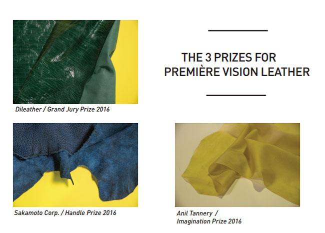 The six Premiere Vision Awards for 2016 go to