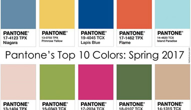 Spring-Summer 2017 Fashion trends: Top 10 key colors
