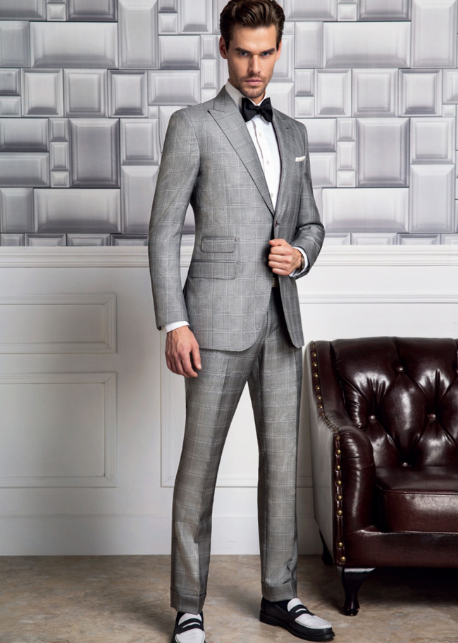 New York's custom made suits by Paolini