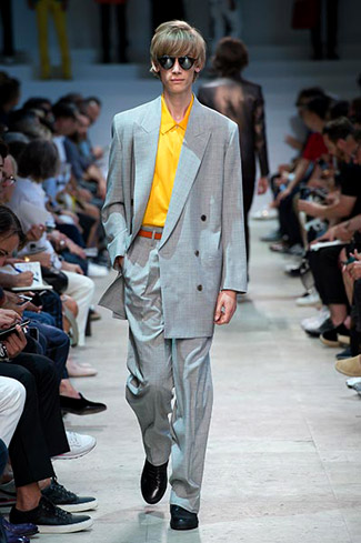 Innovative look at the traditional wool tailoring by Paul Smith
