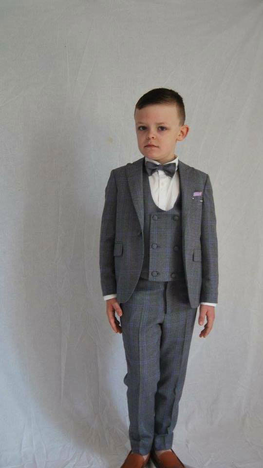 Boys bespoke suits in Ireland by Paul Henry