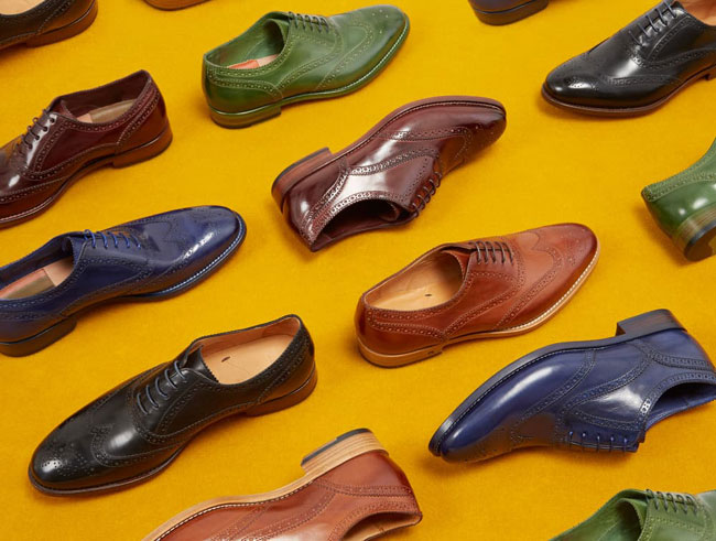 Italian made brogues by Paul Smith