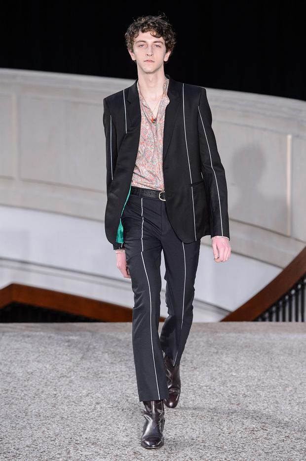 Paul Smith Autumn/Winter 2016 - the colourful suit