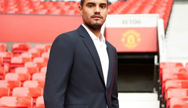 A Suit To Travel In for Manchester United football team