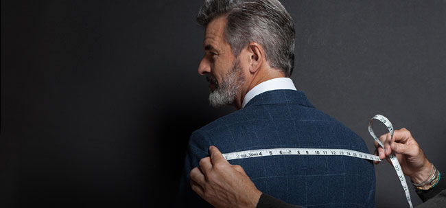 American made-to-measure suits by Paul Stuart