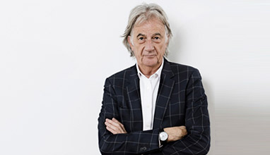Sir Paul Smith meeting fashion students at Milano Unica