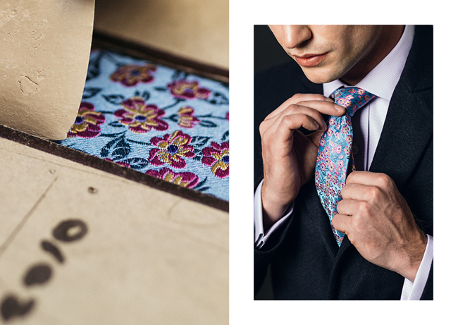 Penrose - the British woven silk ties