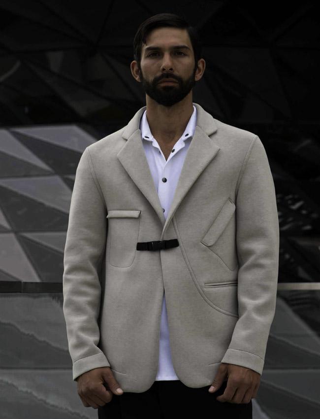 Mariana Razuk - a men's fashion designer, based in Germany