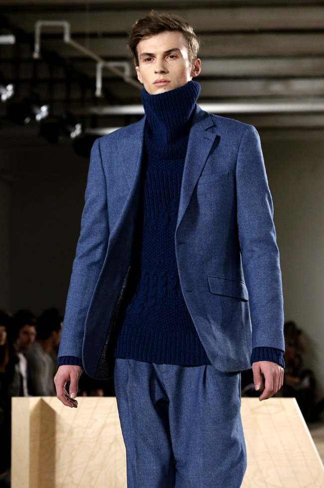 New York Fashion Week: Men's: Perry Ellis Fall-Winter 2016/2017 collection