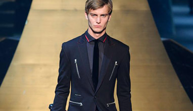 Philipp Plein Autumn/Winter 2016-2017 collection men's suits and coats