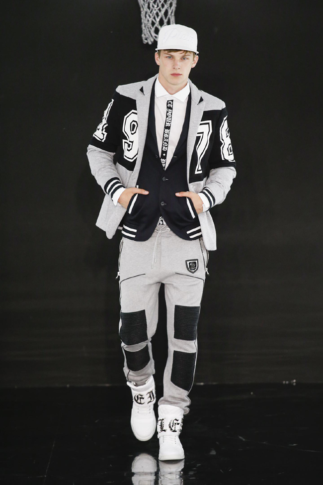 Philipp Plein Spring/Summer 2017 collection - the basketball theme
