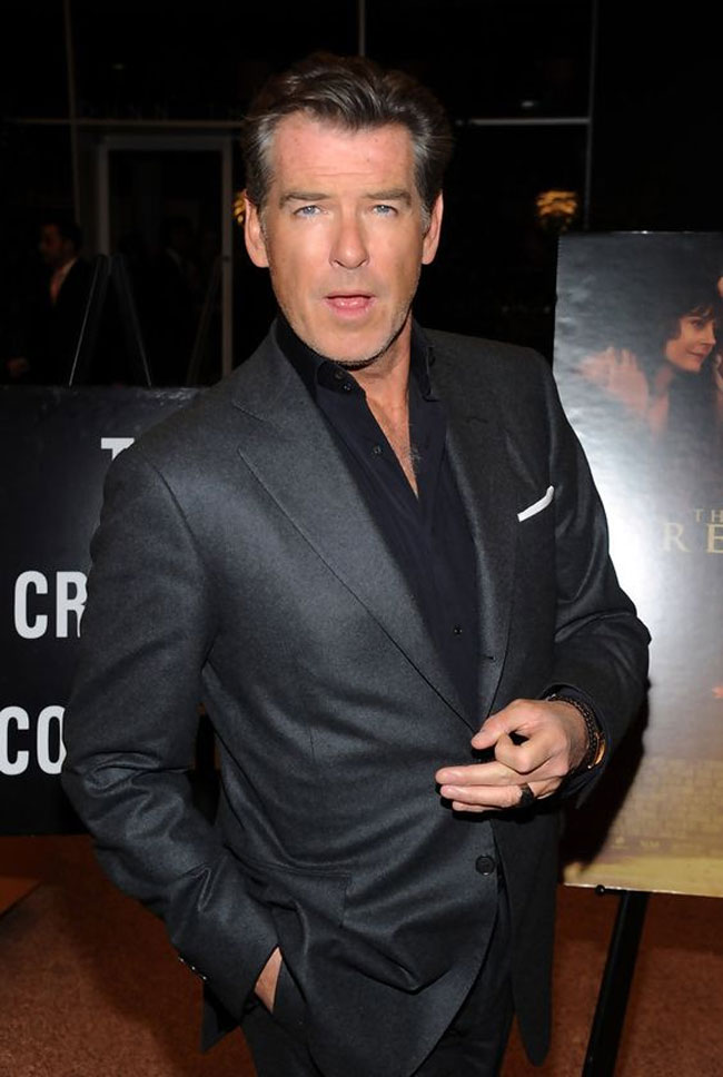 Celebrities' style: Pierce Brosnan