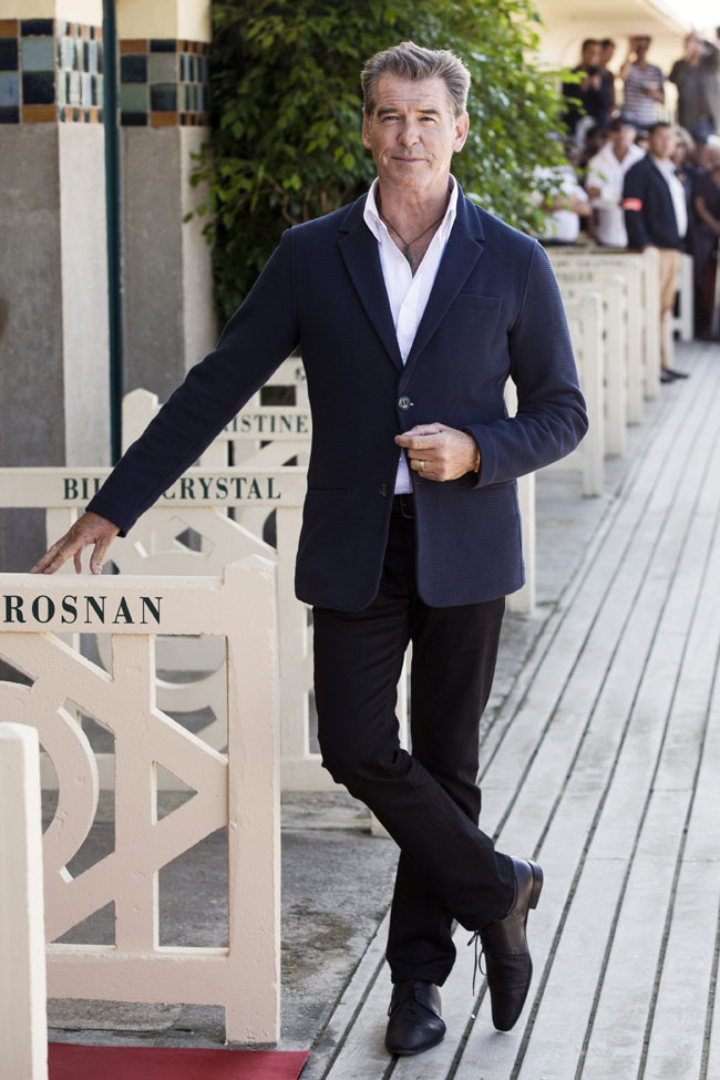 Celebrities' style: Pierce Brosnan
