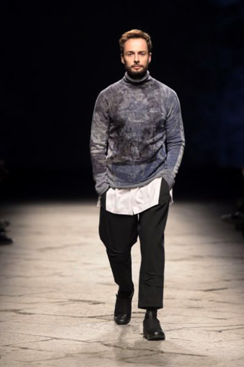 2015 Who Is On Next? Uomo winner Vittorio Branchizio at Pitti Uomo 89