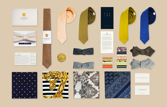 Pocket Square Clothing - king of the made in Los Angeles accessories