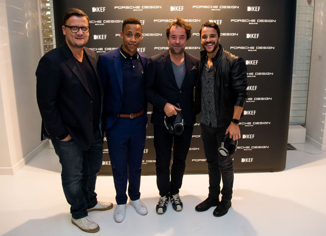Global Premiere of the new Porsche Design KEF Hi-Fi audio systems