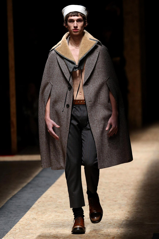Milan Men's Fashion Week: Prada Fall-Winter 2016/2017 ...