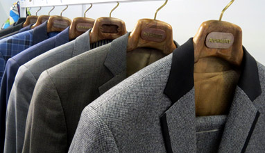 The interest in made-to-measure men's suits is growing