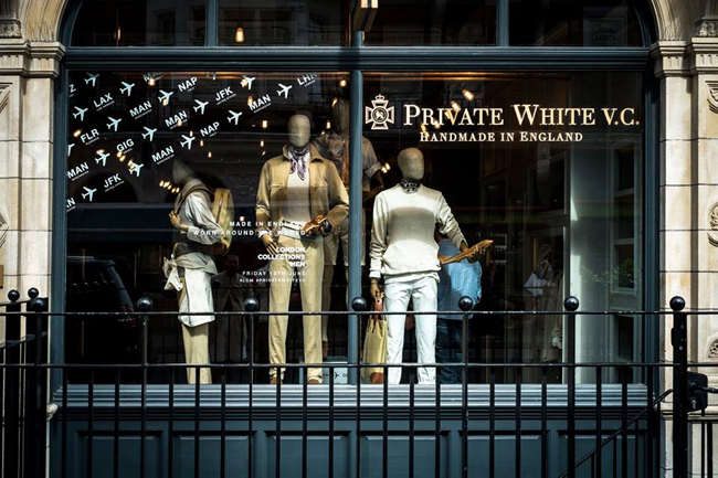 Private White VC Spring/Summer 2017 collection
