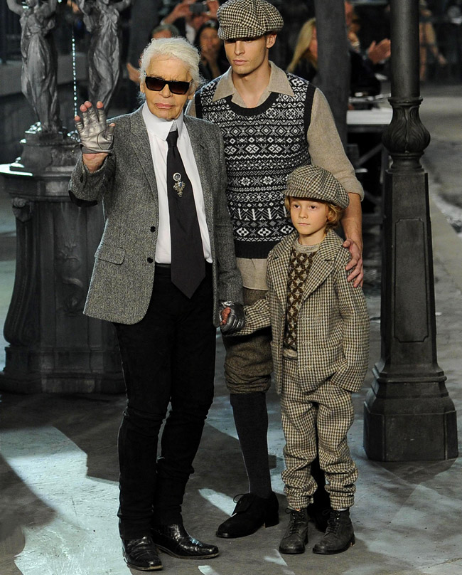 Karl Lagerfeld - German fashion designer, photographer, publisher and film director