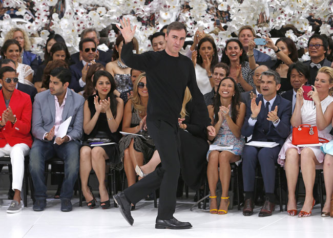 Raf Simons is the new creative director of Calvin Klein