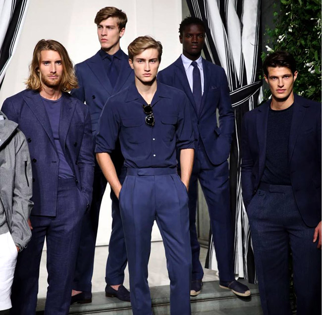 Ralph Lauren Purple Label Spring 2017 collection - Refinement meets cool