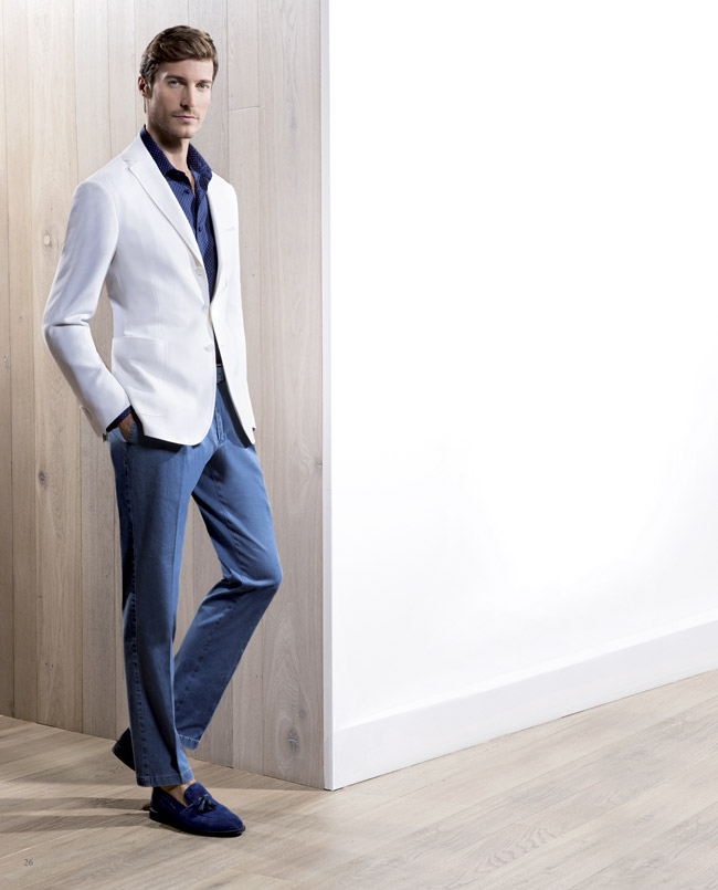 Ravazzolo Spring-Summer 2016 men's suit collection