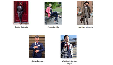 Paulo Battista is the winner of Most Stylish Real Men November 2016