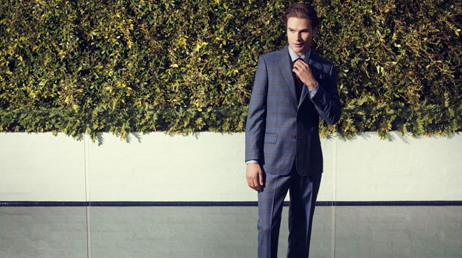 Made-to-measure suits by Rembrandt