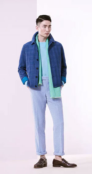Richard james Spring/Summer 2017 collection - Dandy Kim