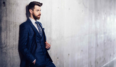 Made-to-measure suits by Richard Smith