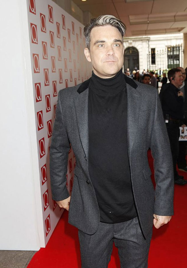 Celebrities' style: Robbie Williams