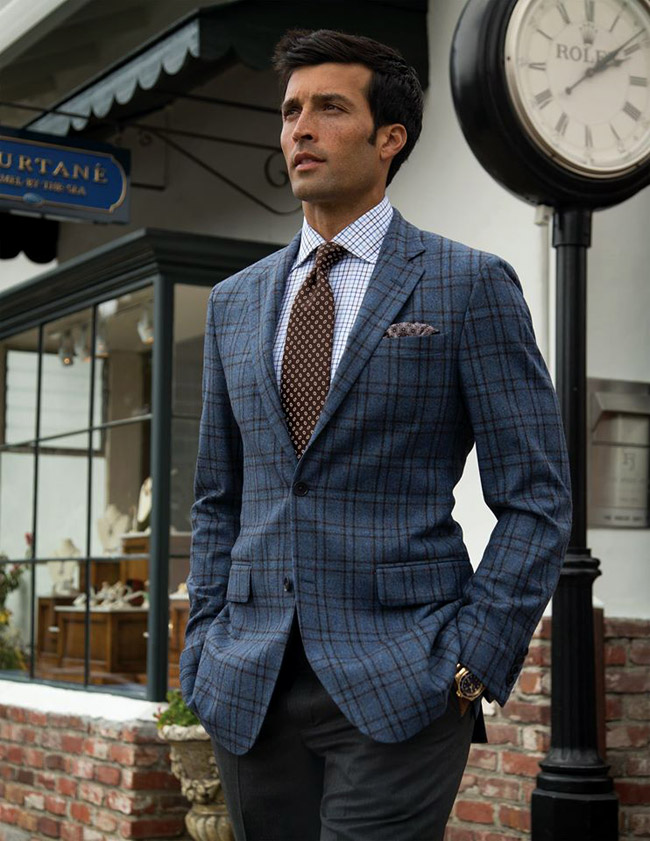 Luxury menswear by Robert Talbott California