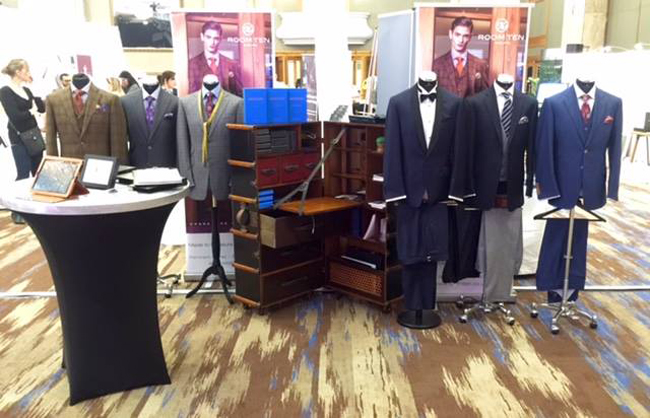 English made-to-measure suits by roomten