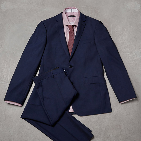 How to style a contemporary suit - tips by SABA
