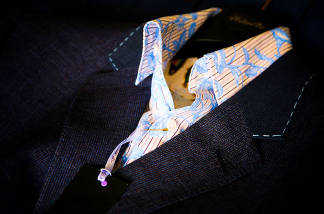 Bespoke suits by Simon Dowling