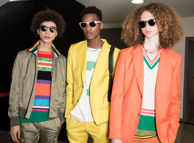 Spring-Summer 2017 runway overview: Directional colors in menswear