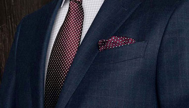 English bespoke and made-to-measure suits by Saint Crispin