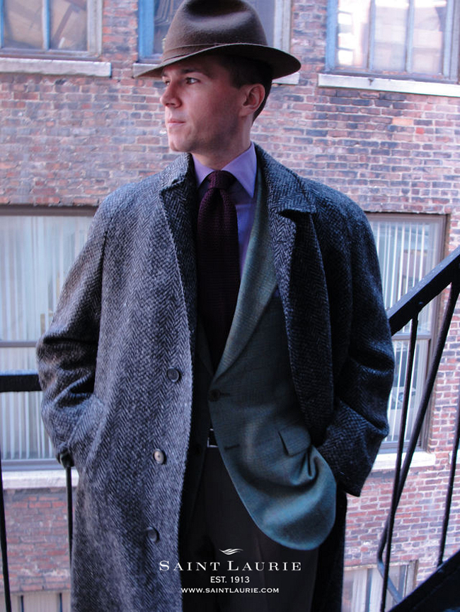 Saint Laurie - Fully bespoke suits hand-made on the premises in New York City