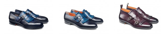 Made-to-measure Italian shoes by Santoni