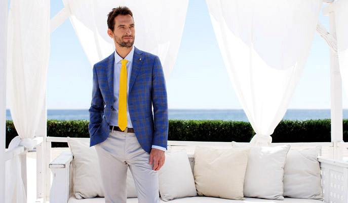 Sartoria Latorre Spring-Summer 2016 men's collection