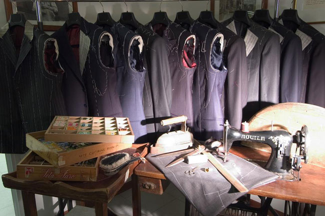 Italian tailor-made suits by Sartoria Silvio Zanella